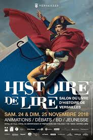 Salon Histoire de Lire à Versailles - les 24 et 25 novembre
