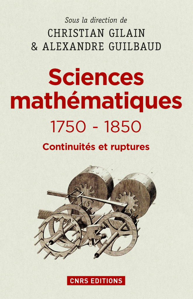 Sciences mathématiques 1750-1850