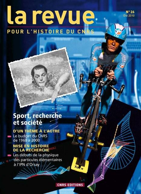 Sport, recherche et société