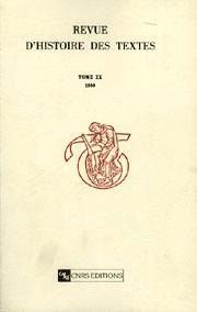 Tables I (1971) - XIX (1989)