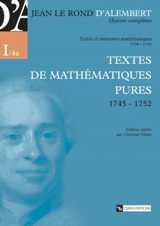 Textes de mathématiques pures