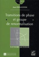 Transitions de phase et groupe de renormalisation