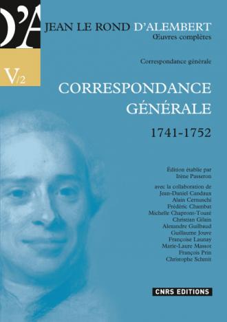 Œuvres complètes de Jean Le Rond d'Alembert