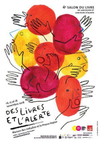 Vanessa Codaccioni au festival Des livres et l'alerte - le 18 novembre