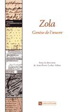 Zola, genèse de l'œuvre
